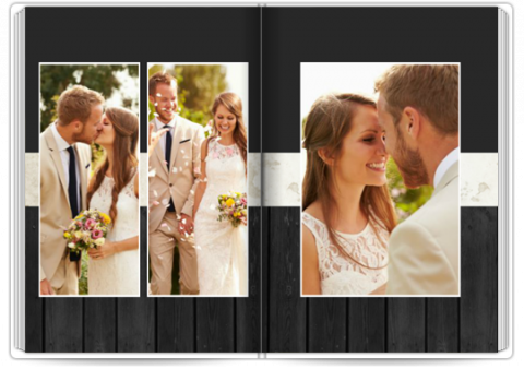 Photo Book Deluxe 8x11,5 inches Classic Love Story