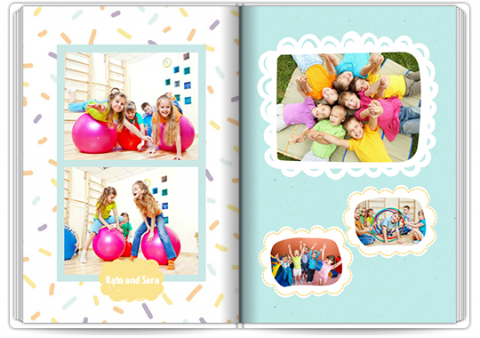 Photo Book Deluxe 8x11,5 inches Kids Adventure