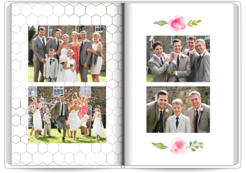Photo Book Exclusive A4 Portrait Thank-You Note for Parents