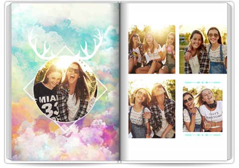 Photo Book Deluxe 8x11,5 inches Insta Colour