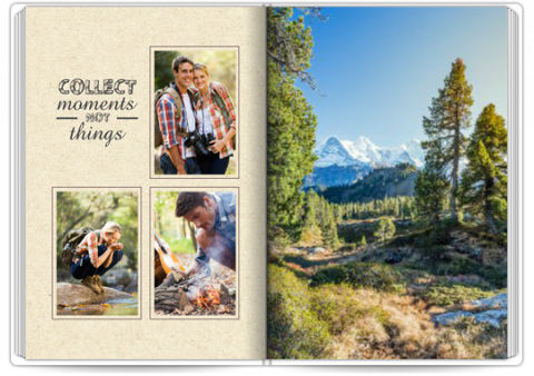 Photo Book Exclusive A4 Portrait I Love Mountains