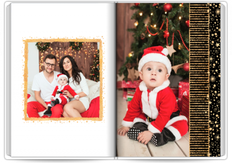 Photo Book Exclusive A4 Portrait Magic Christmas