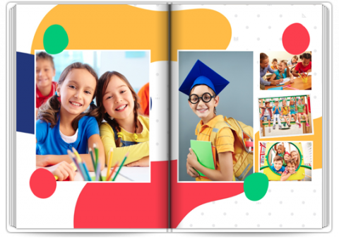 Photo Book Exclusive A4 Portrait Primary School Memories