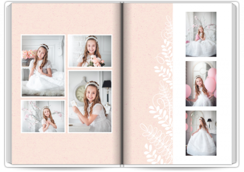 Photo Book Deluxe 8x11,5 inches First Communion Keepsake