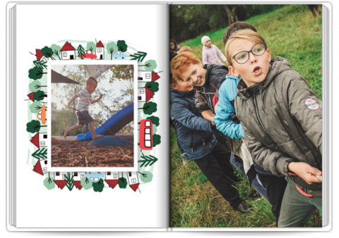 Photo Book Exclusive A4 Portrait School Trip