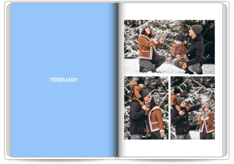 Photo Book Exclusive A4 Portrait Year in Review