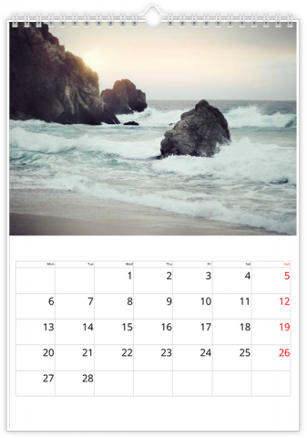Photo Calendar 20x30 (A4 Portrait) For Every Occasion