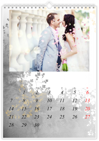Photo Calendar 12x18 inches Decorative