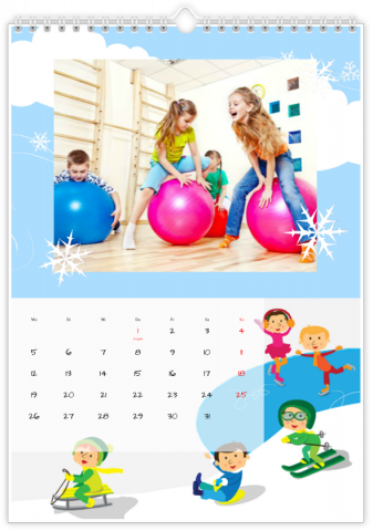 Photo Calendar 30x45 (A3+ Portrait) Playground