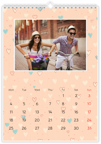 Photo Calendar 30x45 (A3+ Portrait) Forever in Love