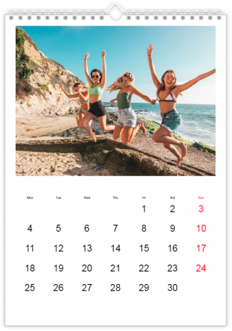 Photo Calendar 30x45 (A3+ Portrait) Classic