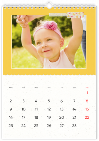 Photo Calendar 30x45 (A3+ Portrait) Sweetness Itself