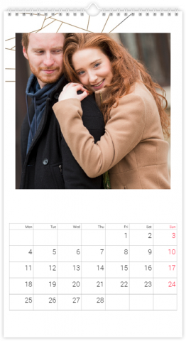Calendrier Photo 33x60,5 (XL) Lovely Lines