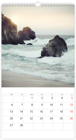 Photo Calendar 33x60,5 (XL) For Every Occasion