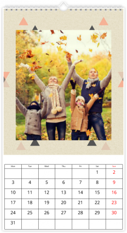 Fotokalender 33x60,5 (XL) Abstract