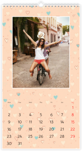 Photo Calendar 33x60,5 (XL) Forever in Love
