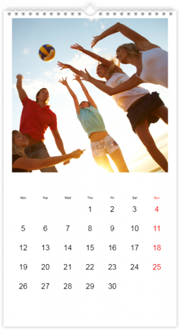 Photo Calendar 33x60,5 (XL) Classic