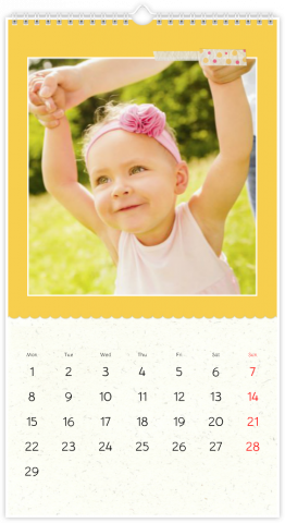 Photo Calendar 33x60,5 (XL) Sweetness Itself