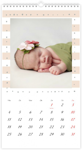 Photo Calendar 33x60,5 (XL) Sweetheart