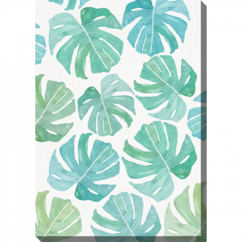 Vertical Watercolour Monstera