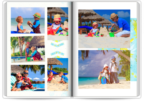 Starbook A4 Portrait Exotic Holidays