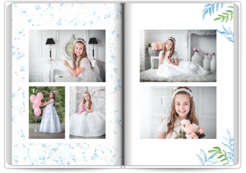Starbook A4 Portrait First Communion Dove