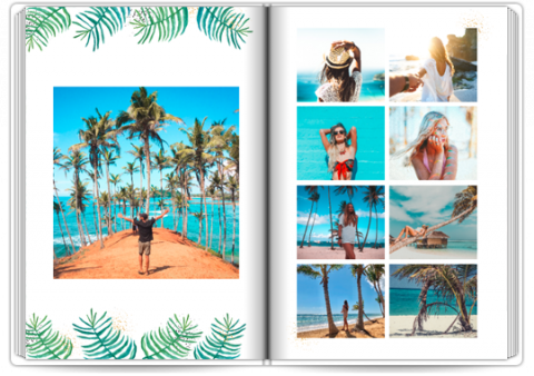 Starbook 8x11,5 inches Botanic Travel