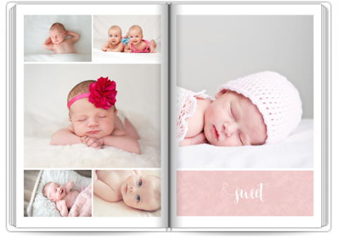 Starbook A4 Portrait Sweet Angel - Pink