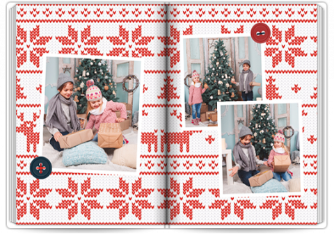 Starbook A4 Portrait Sweet Christmas