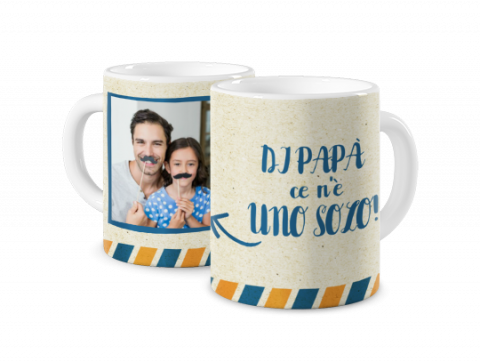 Tazza Colorata Super papà