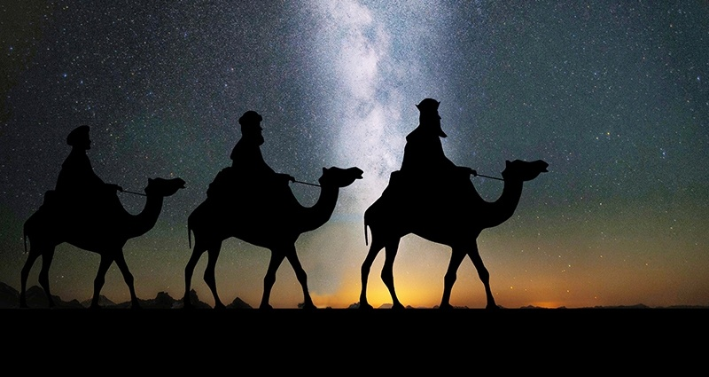 Three Kings procession.