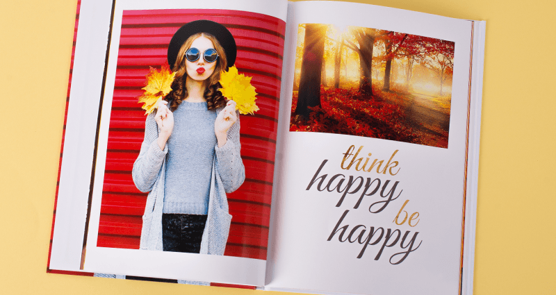 Autumn photo book colorland